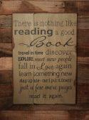 Sign of a Bookworm