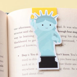 Bookish-y Treat (Plus a Giveaway!): Magnetic Bookmark by Craftedvan ***CLOSED***