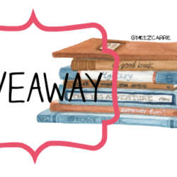 Some Goodreads Giveaways and Weekly Update for September 10