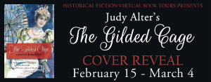 Cover Reveal: The Gilded Cage by Judy Alter