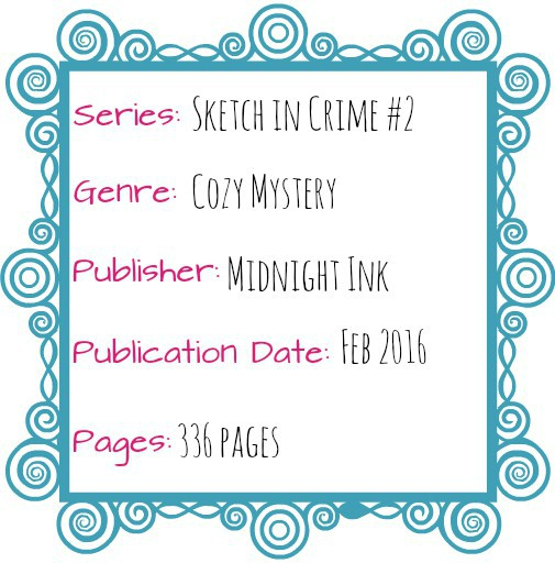 drawing blood sketch in crime cozy mystery midnight ink