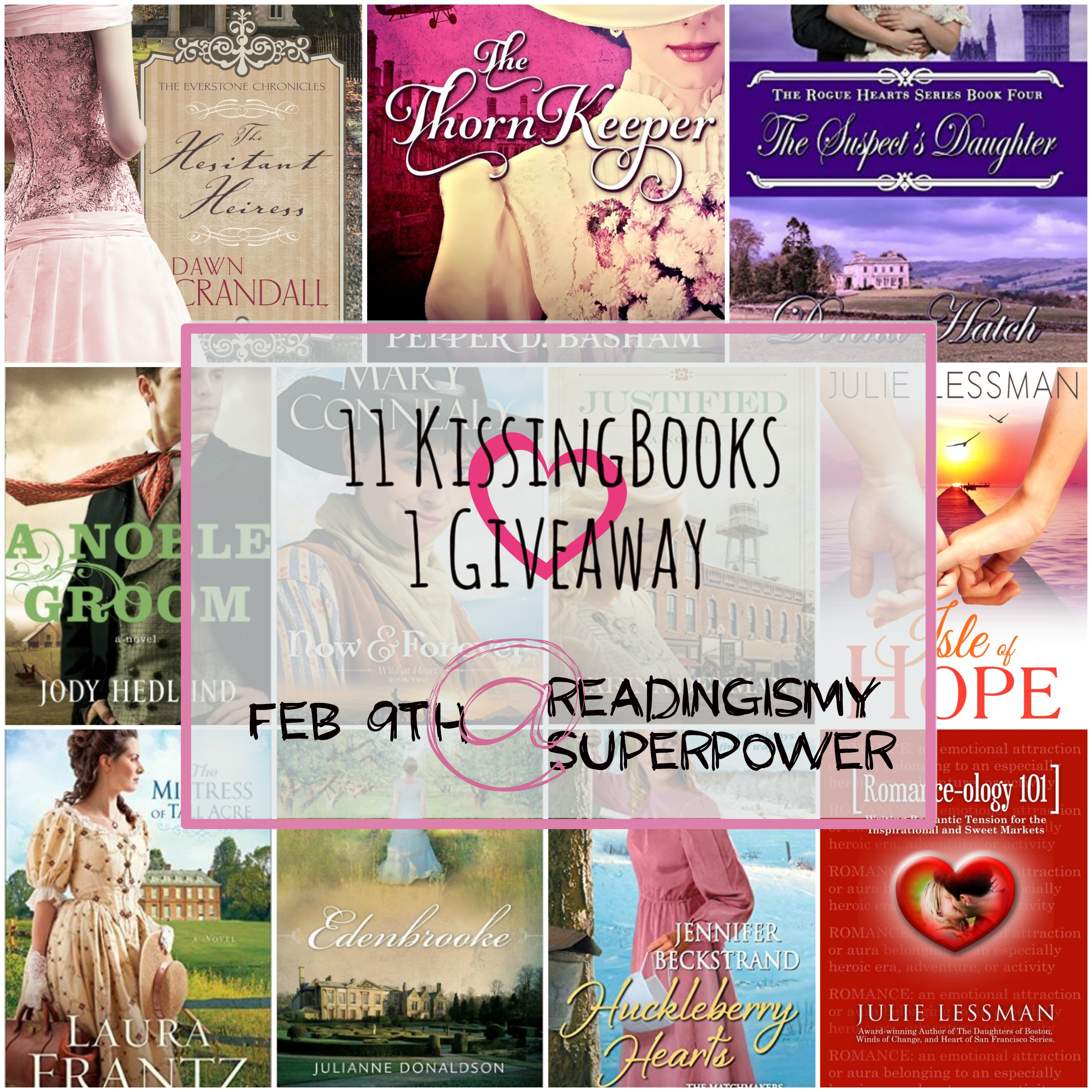 kissingbook giveaway
