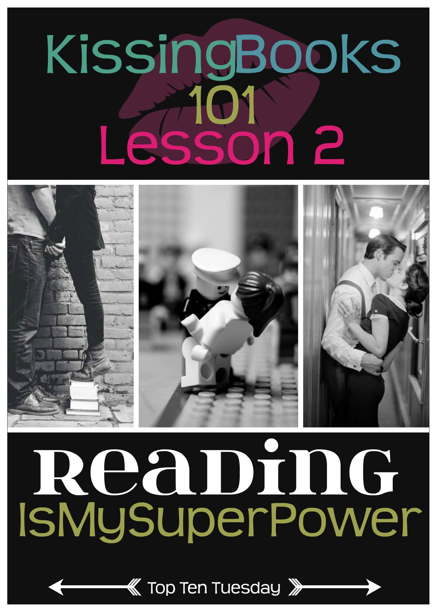 kissingbooks 101 lesson 2 title