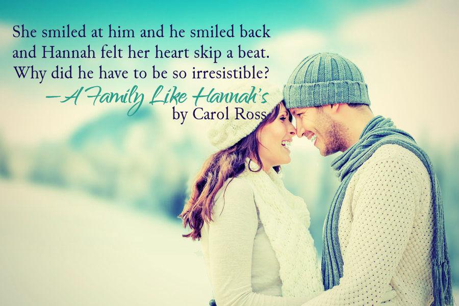Teaser 1 - A Family Like Hannah's by Carol Ross