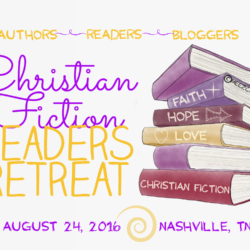 Christian Fiction Readers Retreat is OPEN for registration (plus 2 giveaways!)