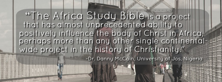 Danny McCain Africa Study Bible