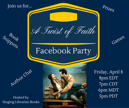 a twist of faith facebook party