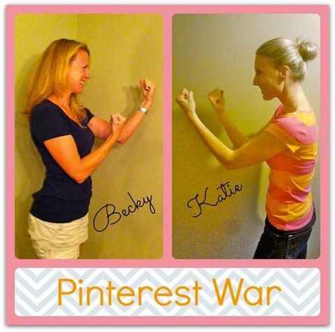 becky and katie pinterest wars