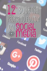 bookish people to follow