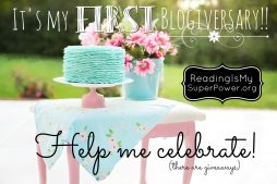 It's my FIRST blogiversary! (plus some giveaways!)