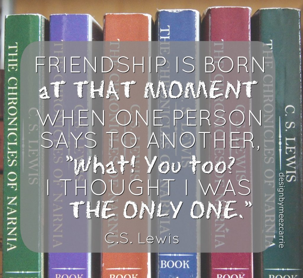 friendship CS Lewis