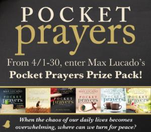 pocket prayers giveaway
