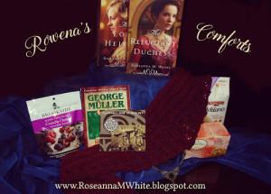 rowena's comforts giveaway