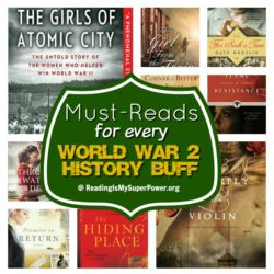 Top Ten Tuesday: Books to Read If You're a WW2 History Buff