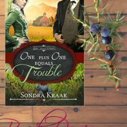 Book Review (and a Giveaway!): One Plus One Equals Trouble by Sondra Kraak