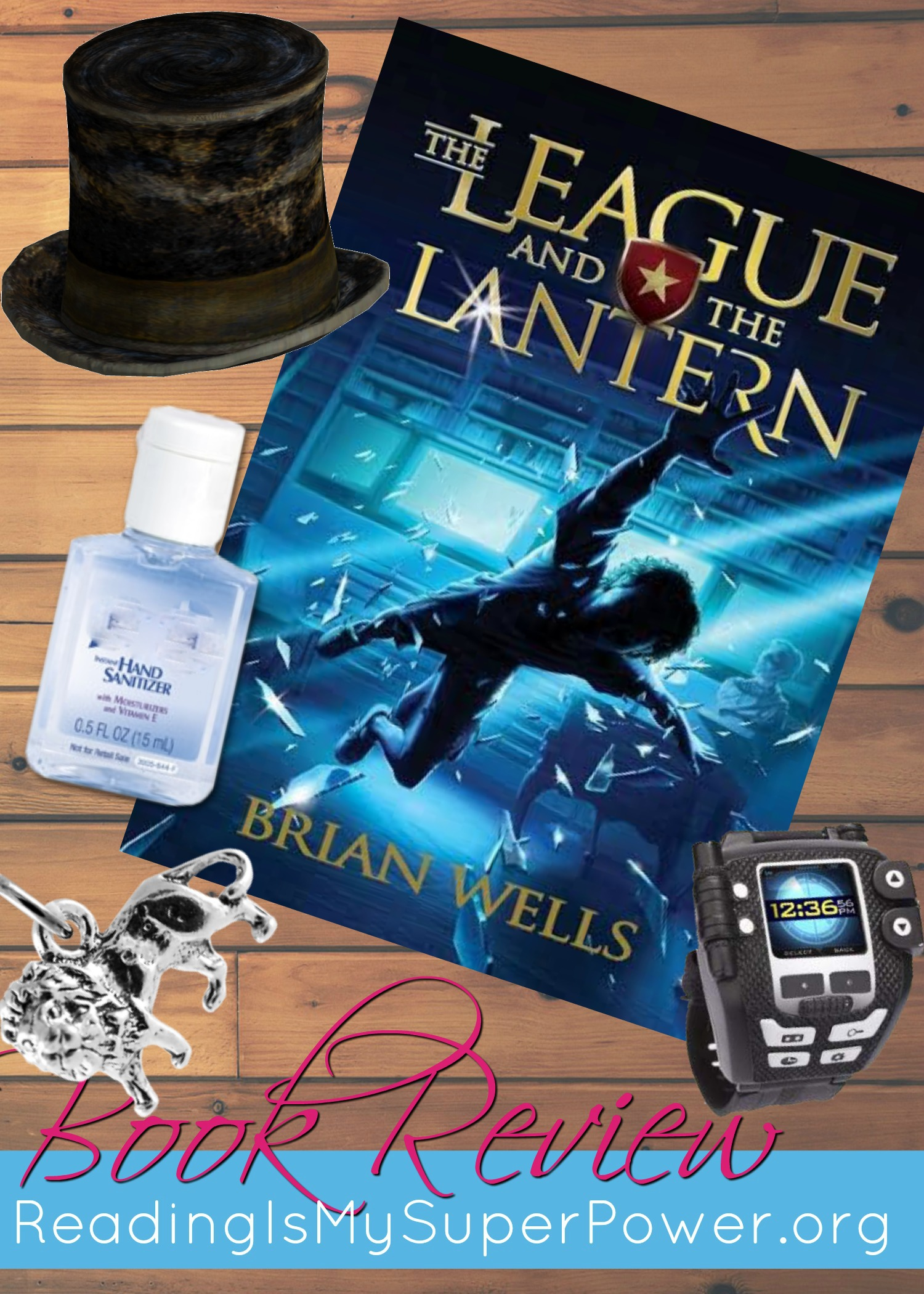 Book Review (and A Giveaway!): The League And The Lantern By Brian