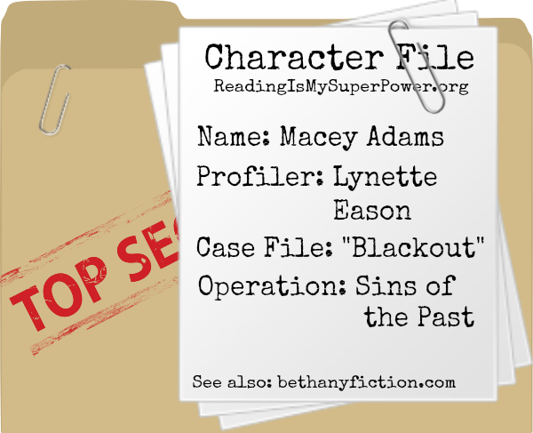 character profile Macey Adams Lynette Eason