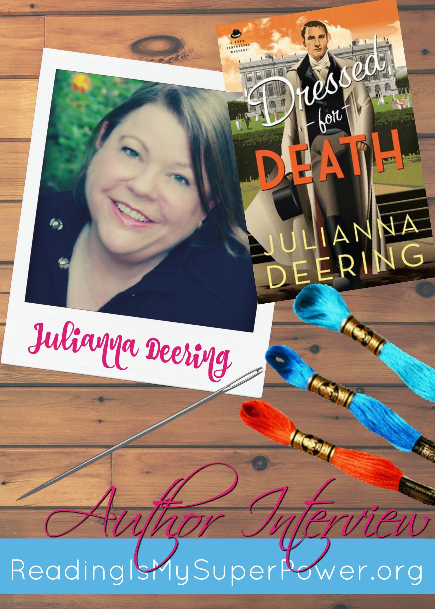 julianna deering author interview