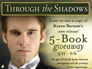 through the shadows giveaway