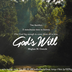 Kindle Daily Deal: God's Will by Meghan M. Gorecki