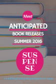 Most Anticipated Book Releases Summer 2016: Mystery/Suspense