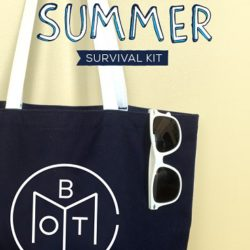 Book of the Month Summer Survival Kit