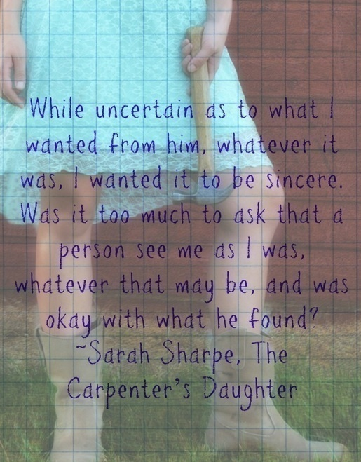 The Carpenter's Daughter snippet 1
