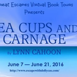 Book Review (and a Giveaway!): Tea Cups and Carnage by Lynn Cahoon