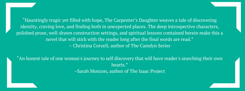 the carpenter's daughter endorsements