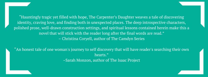 the carpenter's daughter endorsements