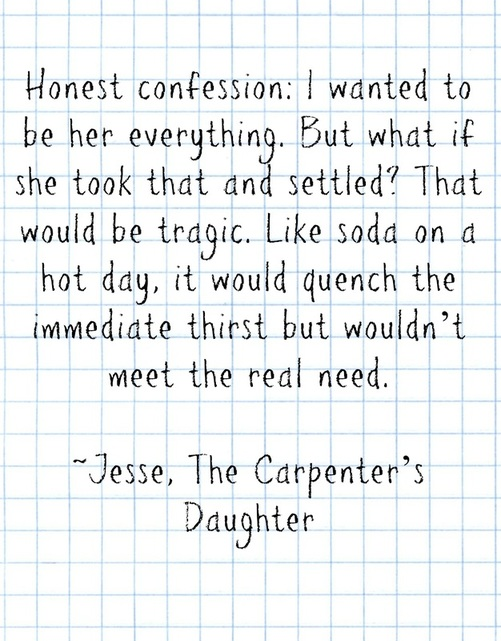 the carpenter's daughter snippet 2