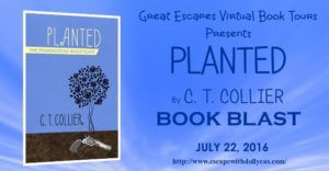 Book Blast (and a Giveaway!): Planted by C.T. Collier