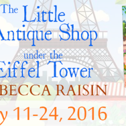 Book Spotlight: The Little Antique Shop Under the Eiffel Tower by Rebecca Raisin