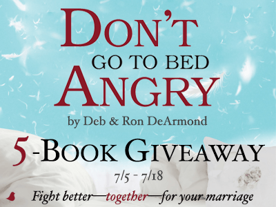 don't go to bed angry giveaway
