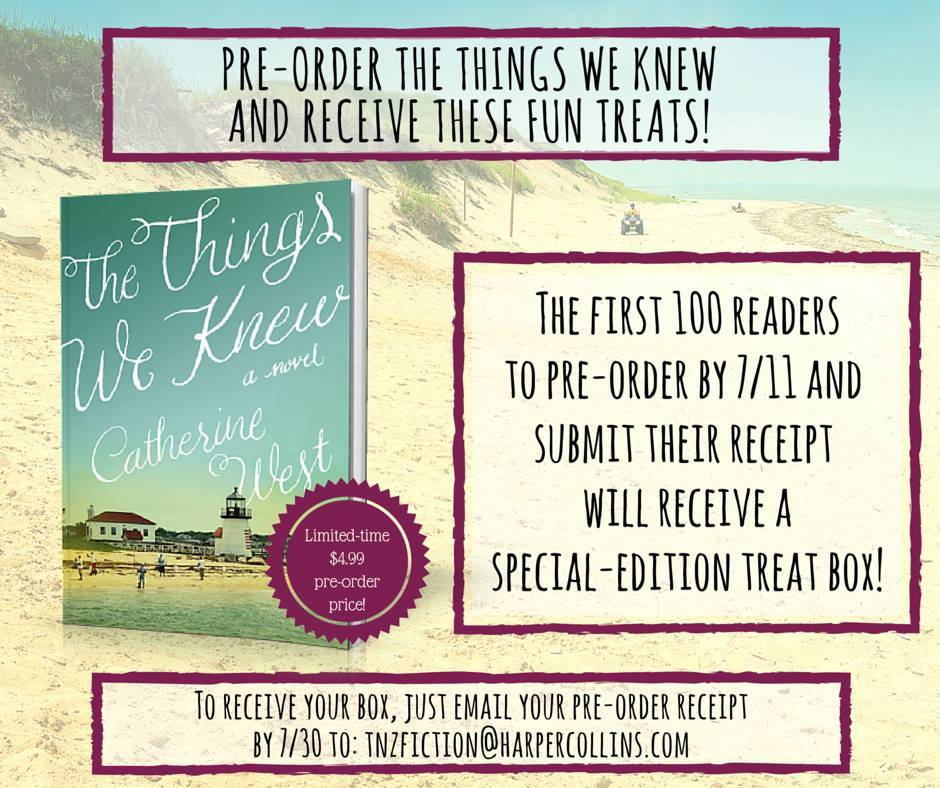 preorder the things we knew