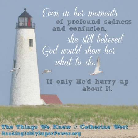 the things we knew quote