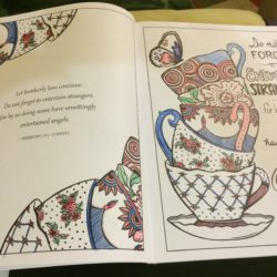 Book Review: Inkspirations Fruit of the Spirit Adult Coloring Book by Lorrie Bennett
