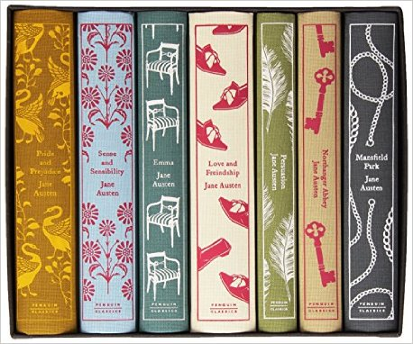 jane austen hardcover set