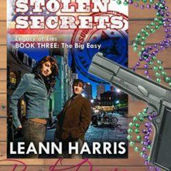 Book Review: Stolen Secrets by Leann Harris