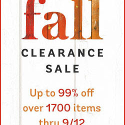 Deal Alert: Fall Clearance Sale at ChristianBook.Com