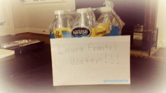 laura frantz's water