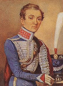 Nadezdha Durova in officer's uniform Photo from Wikipedia