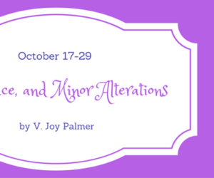 Author Interview and Book Excerpt (plus a Giveaway!): Love, Lace, and Minor Alterations by V. Joy Palmer