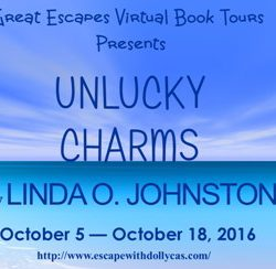 Book Review (and a Giveaway!): Unlucky Charms by Linda O. Johnston