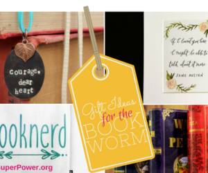 Gift Ideas for the Bookworm (plus a Giveaway!)