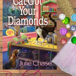 Book Review (and a Giveaway!): Cat Got Your Diamonds by Julie Chase