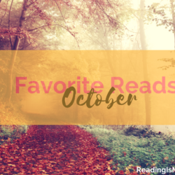 My Fave Reads in October