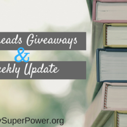 Some Goodreads Giveaways and Weekly Update for March 25th