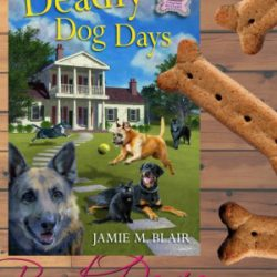 Book Review (and a Giveaway!): Deadly Dog Days by Jamie M. Blair