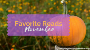 My Fave Reads in November